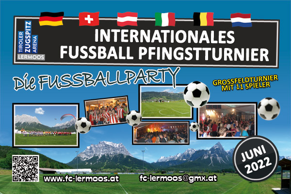 Internationales Fußball Pfingstturnier 2019 in Lermoos / Tiroler Zugspitzarena